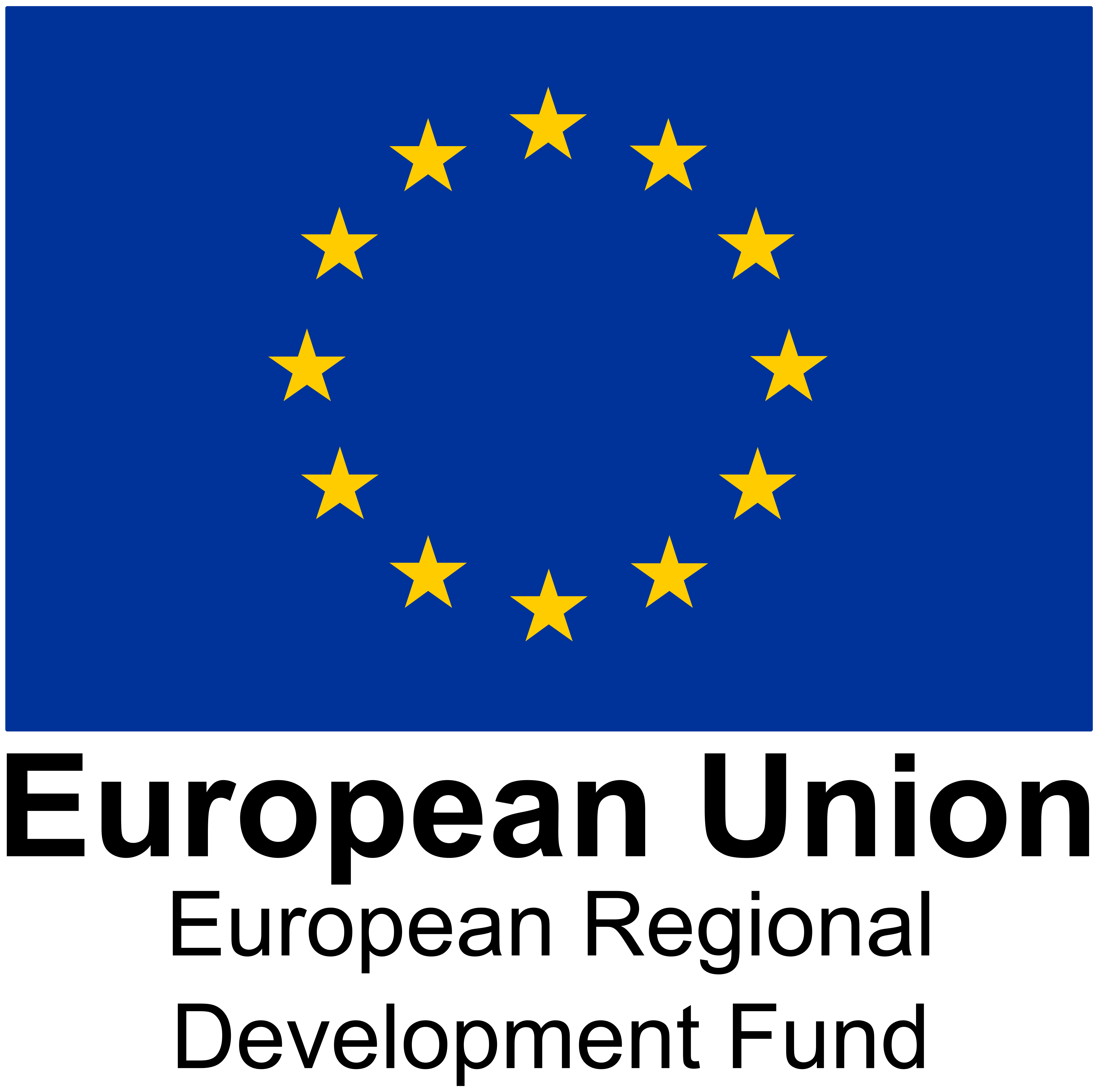 The ERDF logo
